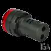 Tracon Hang- és fényjelző, piros, NYG3-BFR230
