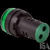 Tracon Feszültségmérő, LED jelzőfény, zöld, NYG3-VG
