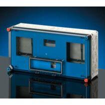 Hensel MI 72460 FED Komplett fedél, átlátszó, 1db MiKL12 csapófedéllel, 600x300mm szekrényekhez