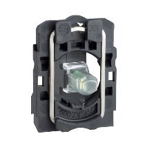 Schneider LED-es jelzőlámpa aljzat 12V,  zöld, ZB5AVJ3