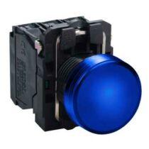 Schneider LED-es jelzőlámpa, kék, 24V, XB5AVB6