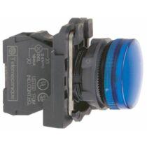 Schneider LED-es jelzőlámpa, kék, 110…120V AC, XB5AVG6