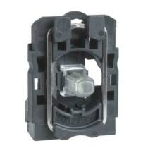 Schneider LED-es jelzőlámpa aljzat fehér, 24-120V, ZB5AVBG1