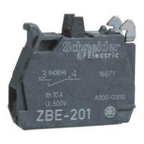 Schneider Érintkezőblokk, 1NO, ZBE201