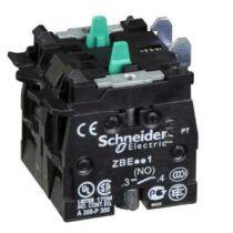 Schneider Érintkezőblokk nyomógombhoz 2NO, ZBE503