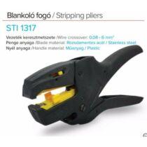 Stilo blankoló fogó 0,08...10mm2 csupaszolás max. 6mm2 vágás sti1317