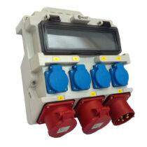 TP Ipari elosztó doboz, hordozható, szerelt, OZ3370C-H