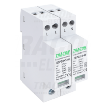 Tracon T2+T3 AC típusú túlfeszültség  levezető, egybeépített, ESPD2+3-40-4P