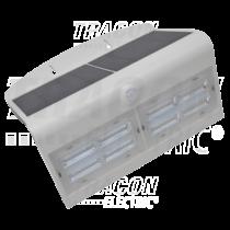 Tracon Napelemes LED fali világítótest mozgásérzékelővel, fehér, LSLBW7W