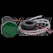 Tracon Árammérő, LED jelzőfény, zöld [NYG3-AG]