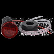 Tracon Árammérő, LED jelzőfény, piros [NYG3-AR]