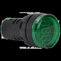 Tracon Feszültségmérő, LED jelzőfény, zöld [NYG3-VG]