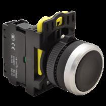 Tracon Egyszerű nyomókapcsoló, fekete, NYK3-BK
