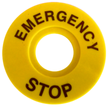 Tracon EMERGENCY STOP lap, NYG3-ES60