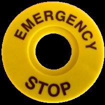 Tracon EMERGENCY STOP lap, NYG3-ES60