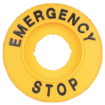 Tracon EMERGENCY STOP lap, NYG3-ES60H