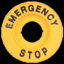 Tracon EMERGENCY STOP lap, NYG3-ES60H