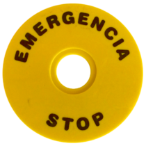 Tracon EMERGENCY STOP lap, NYG3-ES90