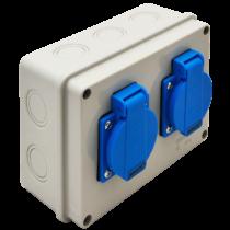 Tracon Csatlakozó doboz, TDB07-0M, védelem nélkül