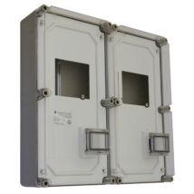 Csatári Plast PVT 6060 Á-V Fm Fogyasztásmérő szekrény 3f többmérős állandó és vezérelt