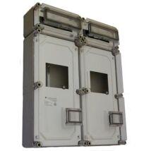 Csatári Plast PVT 6060 Á-V Fm ÁK Fogyasztásmérő szekrény 1-3f többmérős