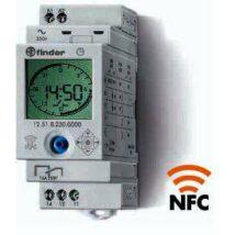 Finder Kapcsolóóra, 1 váltóérintkező, 230 V