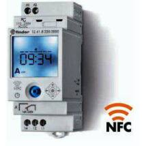 Finder Elektronikus kapcsolóóra, 1 váltóérintkező, napi és heti program, 230 V