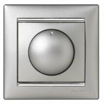 Legrand Valena forgatógombos fényerőszabályzó 40-400W (izzó- és halogén), alumínium [770261]