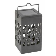 Rábalux 8948 Mora kültéri napelemes lámpa, fekete, LED