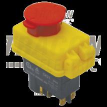Tracon Relés biztonsági kapcsoló, gombafejű reteszeléssel,  [SSTM-015]