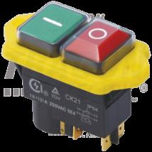 Tracon Relés biztonsági kapcsoló, csavarozható, sárga kerettel [SSTM-045]