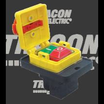 Tracon Relés biztonsági kapcsoló, gombafejű reteszeléssel [SSTM-316]