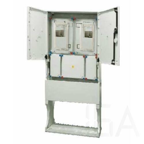 Hensel HB33K0FFEM-E Basic fogyasztásmérő szekrény EON területre IP 54, 1/3 fázisú két mérős kombinált, leásható
