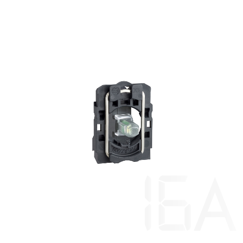 Schneider LED-es jelzőlámpa aljzat 12V, piros, ZB5AVJ4