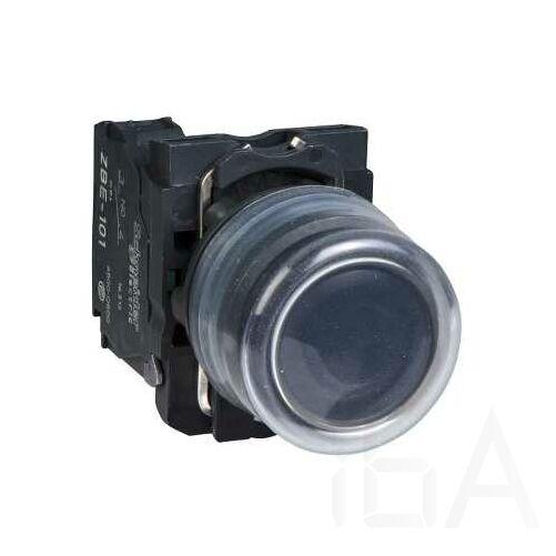 Schneider Gumisapkás nyomógomb, fekete, XB5AP21