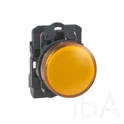 Schneider LED-es jelzőlámpa, narancssárga, 24V, XB5AVB5