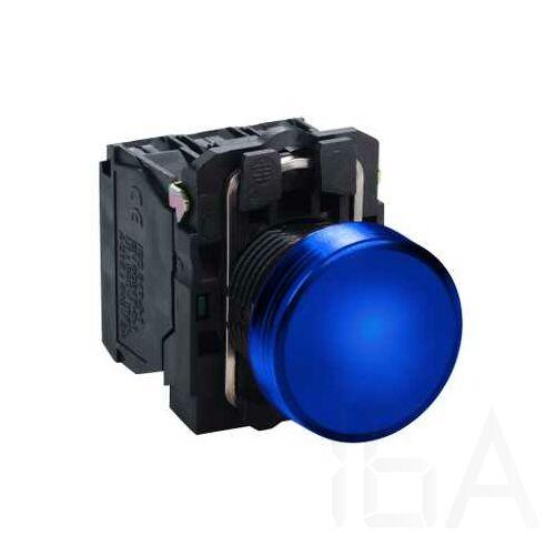 Schneider LED-es jelzőlámpa, kék, 230V AC, XB5AVM6
