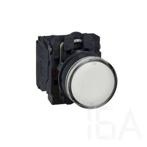 Schneider LED-es világító nyomógomb, fehér, 230V, XB5AW31M5