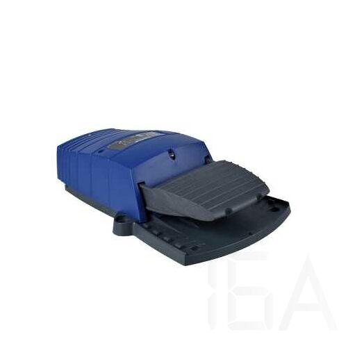 Schneider Lábkapcsoló IP66, műanyag, kék, 2 NC+NO, 2 lépés, XPEB211