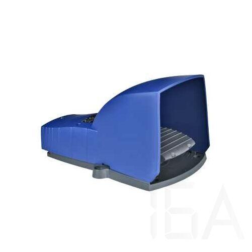 Schneider Lábkapcsoló IP66, műanyag, kék, fedéllel, 2 NC + 2 NO, 2 lépés, XPEB611
