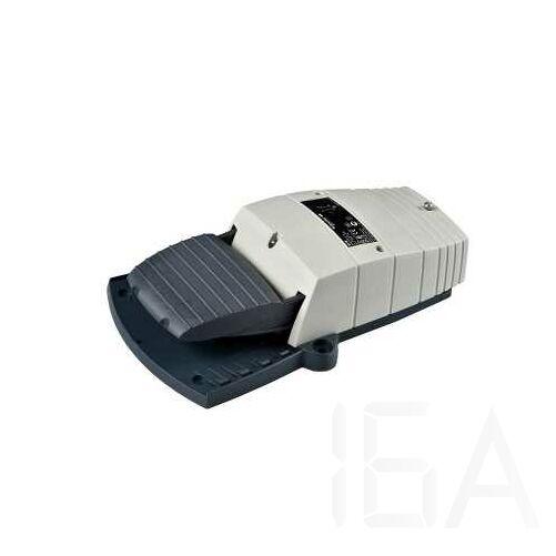 Schneider Lábkapcsoló IP66, műanyag, szürke, 1NC+1NO, 1 lépés, XPEG110