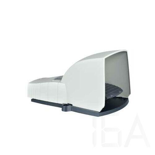 Schneider Lábkapcsoló IP66, műanyag, szürke, fedéllel, 1NC+1NO, 1 lépés, XPEG510