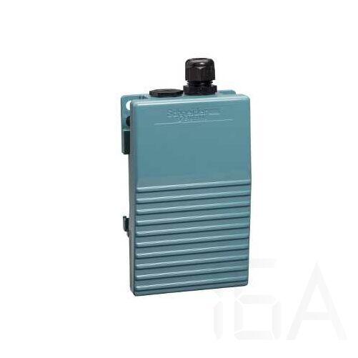 Schneider Pedál, fém, kék, 1NC+1NO, 1 lépés, XPEM110