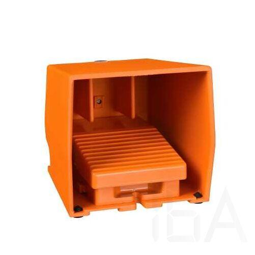 Schneider Pedál, fém, narancs, 1NC+1NO, burkolt, 1 fokozat, XPER310