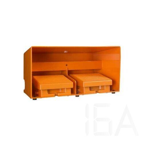 Schneider Kétlábas lábkapcsoló, fém, narancs, 2x2NC+1NO, 1 fokozat, XPER3110D