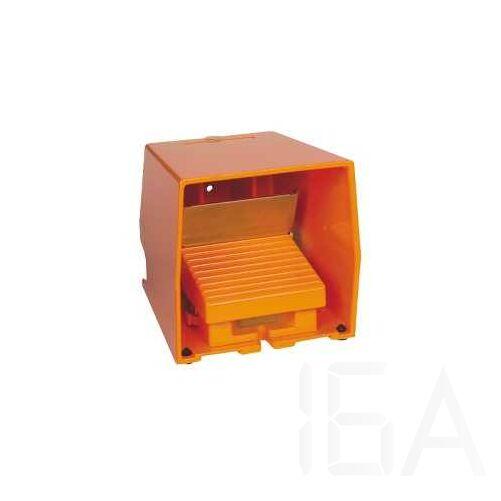 Schneider Lábkapcsoló fém, narancs, 2NC+NO, 1 fokozat analóg kimenettel, XPER529