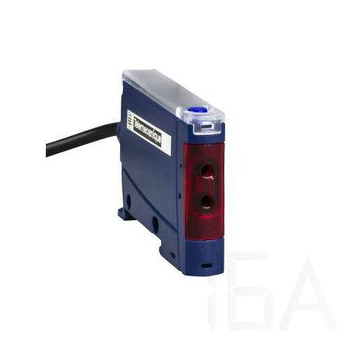 Schneider Optikai szálas érzékelő, PNP, kábeles, XUDA2PSML2