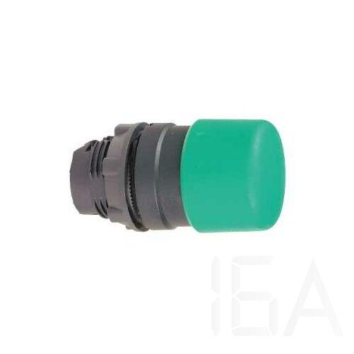 Schneider, gombfej, átm:30 mm zöld, ZB5AC34