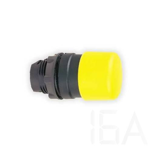 Schneider, gombfej, átm:30 mm sárga, ZB5AC54