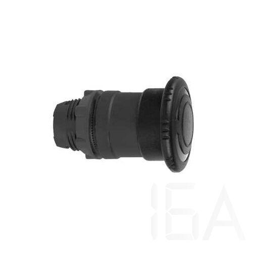 Schneider Kerek vészgombfej, fekete, ZB5AS52